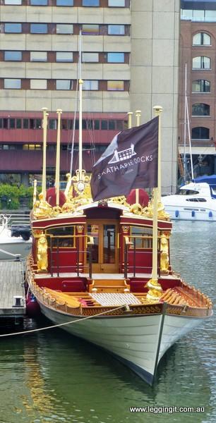 Royal Rowing Barge