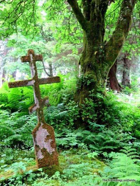 Sitka - old Russian cemetery