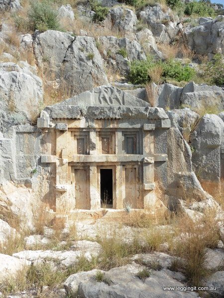 Myra Tombs