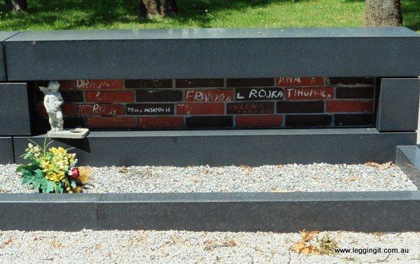 Zagreb Mirogoj Cemetery Monument To The Missing