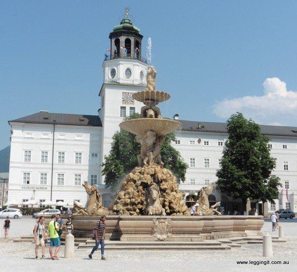 Pferdeschwemme (Horse Fountain) Salzburg