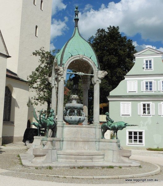 Fountain Kempten Germany