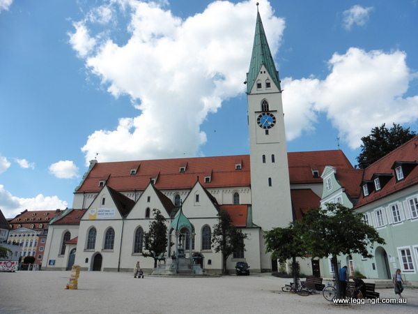 St Mang Church Kempten Germany