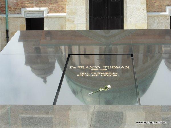 Franjo Tuđman's Tomb