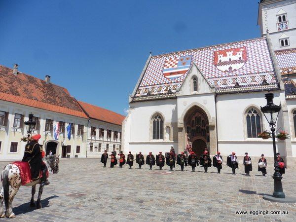 St Marks Square Zagreb