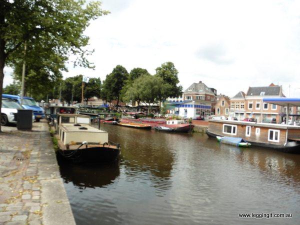 Nooder-Haven Canal Groningen The Netherlands