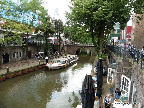Canal Utrecht The Netherlands