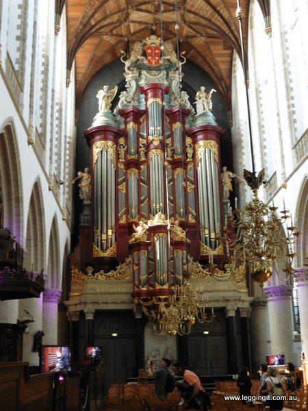 St Bavos Cathedral Haarlem The Netherlands