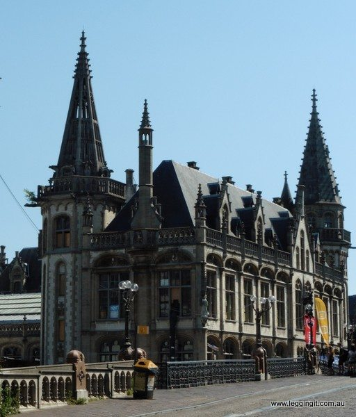Masons Guild Hall Ghent Belgium