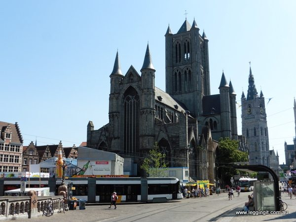 St Nicholas Church Ghent Belgium