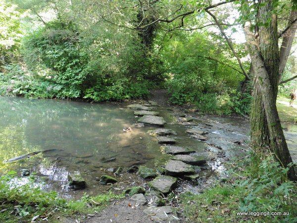 Abbey Gardens Malmesbury England