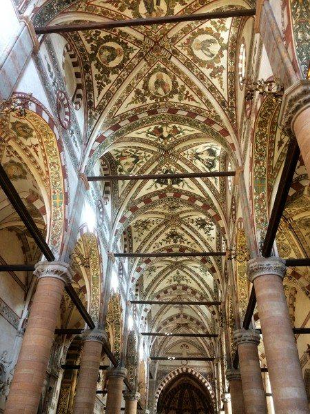Chiesa Sant Anastasia Verona Italy