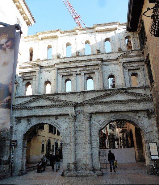 Porta Borsari (Borsari Gate) Verona Italy