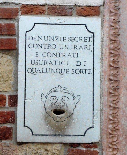 Piazza Dei Signori. Verona Italy