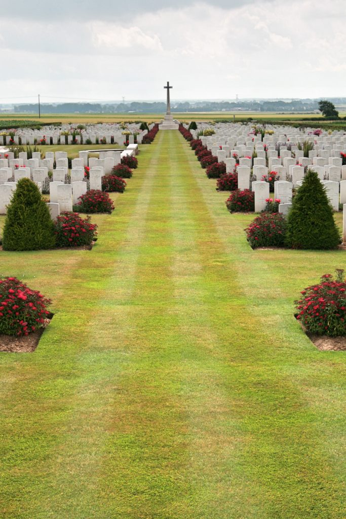 Le Treport Military Cemetery, Le Treport