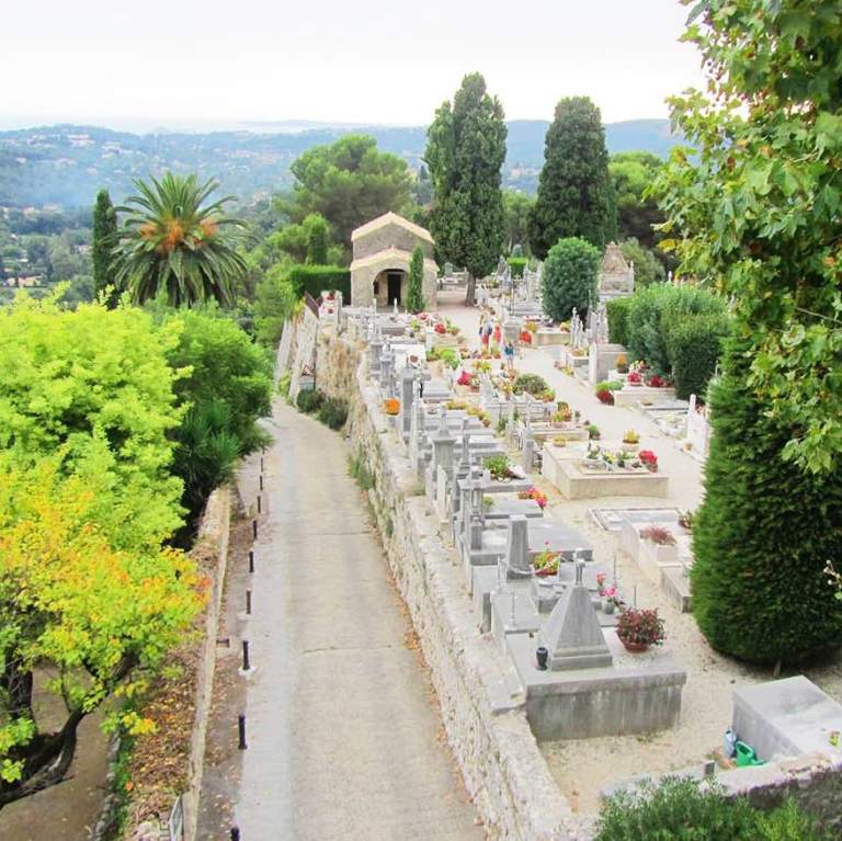The Village Cemetery, St Paul de Vence