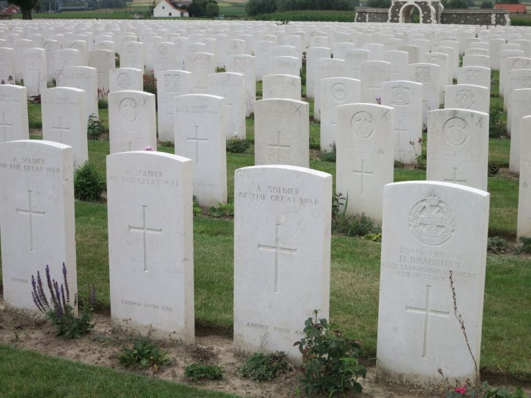 Tyn Cot Cemetery, Ypres