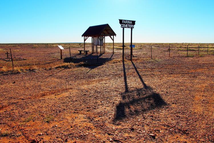 Farina Cemetery, Outback South Australia