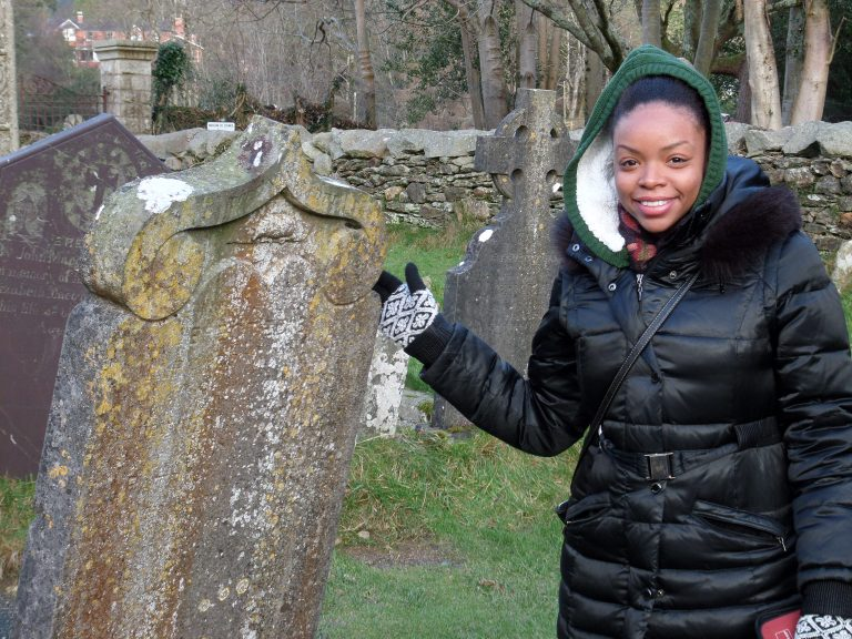 St Kevins Cemetery, Glendalough