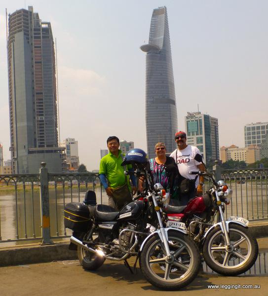 Saigon Riders - Legging It Travel