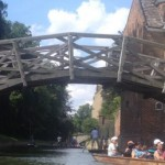 Mathematical Bridge in Cambridge, London