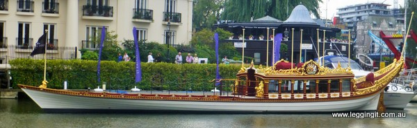 Royal Rowing Barge