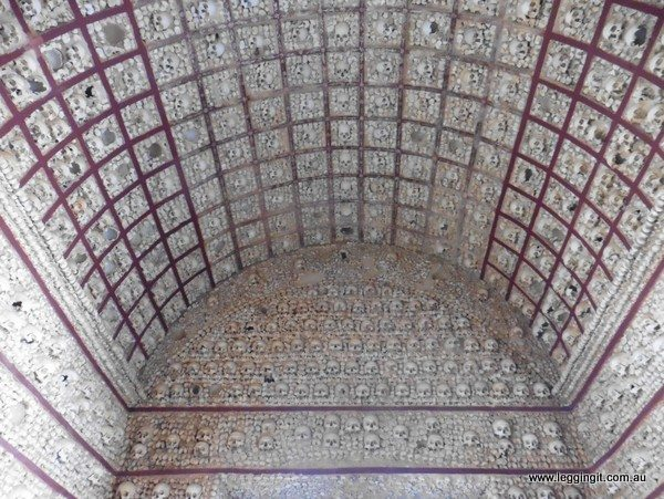 Barrel style roof Faro Cathedral Portugal