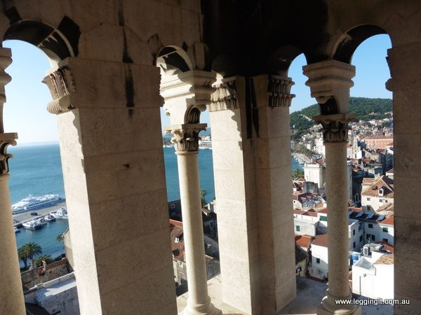 View from St Domnius' Bell Tower Split