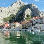 Omiš through the Cetina Gorge, Croatia