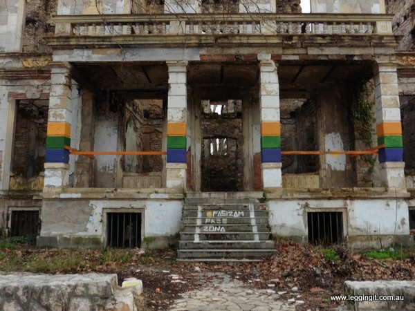 Abandoned building Mostar