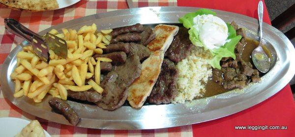 Meat Platter Mostar