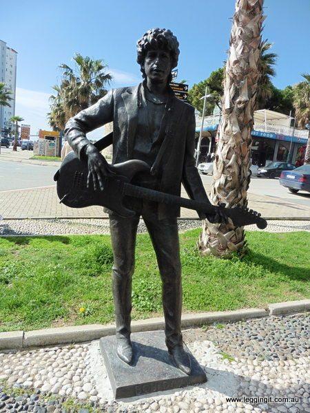 Bob Dylan Durrës, Albania