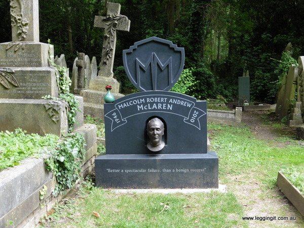 Malcolm McClaren Grave