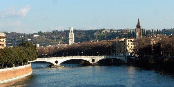 Ponte Della Vittoria Verona Italy