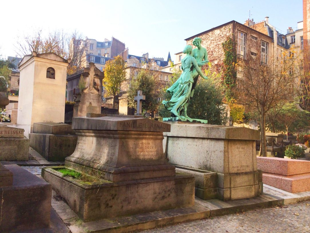 Saint-Vincent Cemetery in Montmartre, Paris