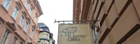 Tasting Table Budapest