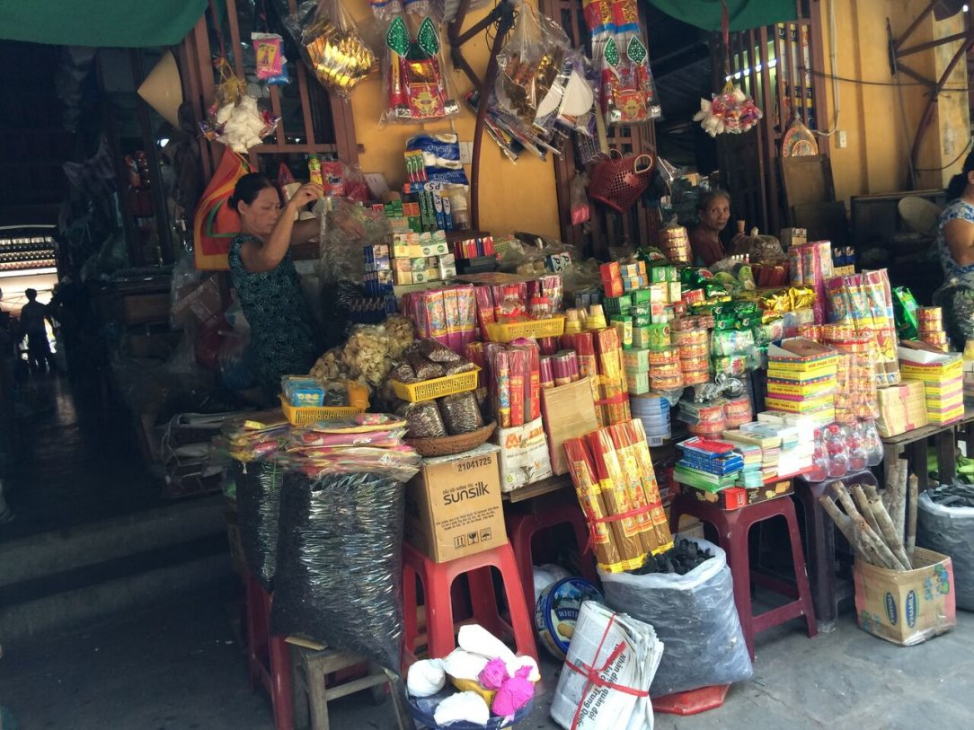 Market Stall Hoi An